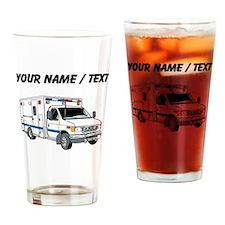Custom Ambulance Drinking Glass