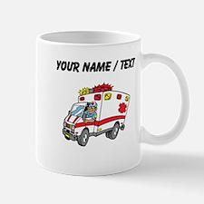 Custom Cartoon Ambulance Mugs