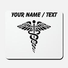 Custom Medical Caduceus Mousepad