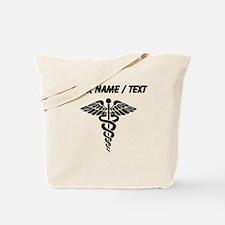 Custom Medical Caduceus Tote Bag