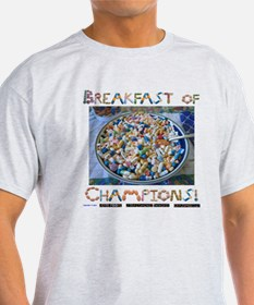Breakfast of Champs White T-Shirt