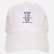 Ten Line Custom Message Baseball Cap