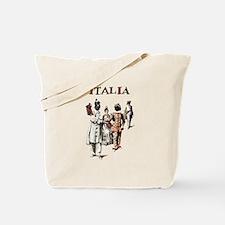 Italia Harlequin Tote Bag