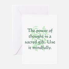 Power of Thought Greeting Cards