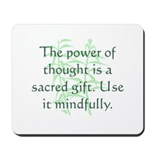 Power of Thought Mousepad