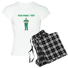 Custom Doctor In Scrubs Pajamas