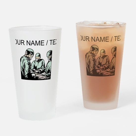 Custom Surgery Drinking Glass