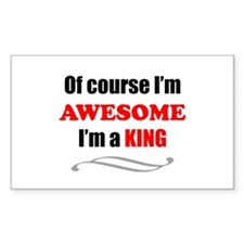 King Awesome Family Decal