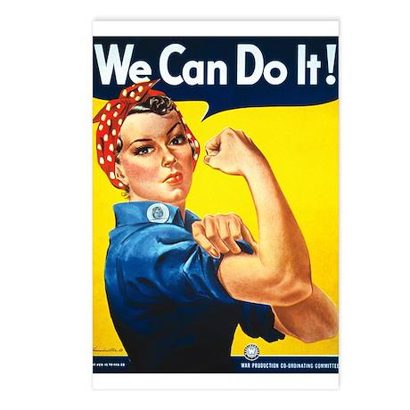 Rosie The Riveter Postcards (Package of 8)