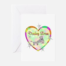 Donkey Lover Greeting Cards (Pk of 20)