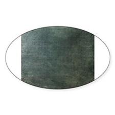 Green script linen texture Decal
