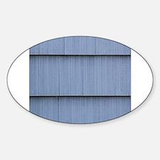 Blue grey shingle image Decal