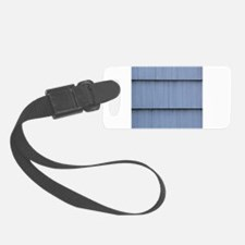 Blue grey shingle image Luggage Tag
