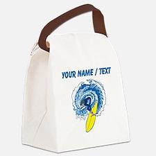 Custom Surfer Canvas Lunch Bag