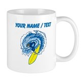 Surfing personalize Small Mugs (11 oz)
