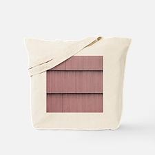 Mauve shingle image Tote Bag