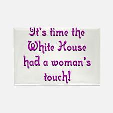 White House 1 Rectangle Magnet