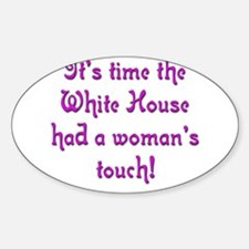 White House 1 Oval Decal