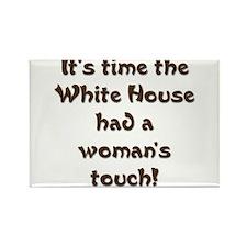 White House 2 Rectangle Magnet