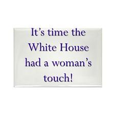 White House 3 Rectangle Magnet