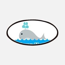 Personalizable Gray Whale Patches