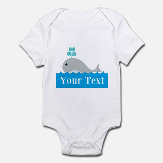 Personalizable Gray Whale Body Suit