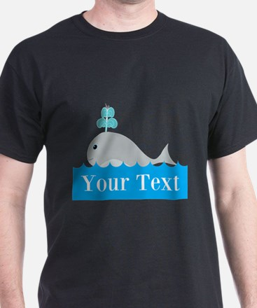 Personalizable Gray Whale T-Shirt