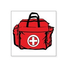 First Aid Kit Sticker