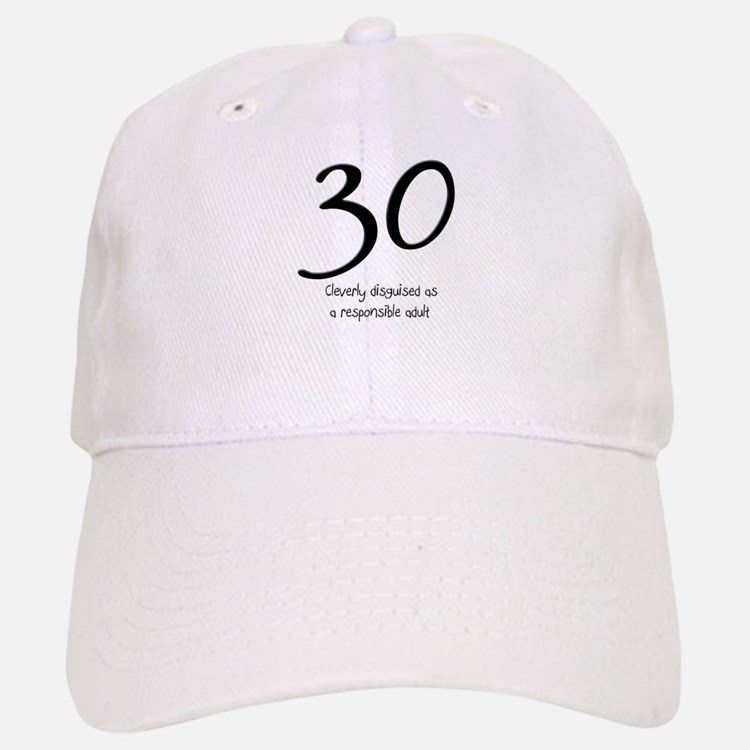 30th Birthday Baseball Baseball Cap