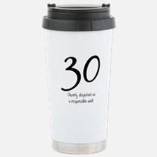 30th Birthday Stainless Steel Travel Mug