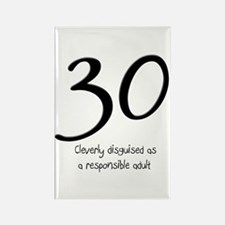 30th Birthday Rectangle Magnet