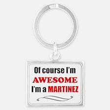 Martinez Awesome Family Landscape Keychain