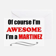 Martinez Awesome Family Greeting Card