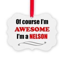 Nelson Awesome Family Ornament