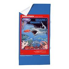 Intellivision Shark! Shark! Beach Towel