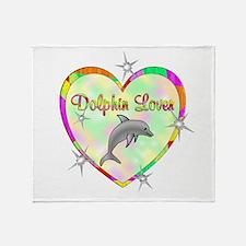 Dolphin Lover Throw Blanket