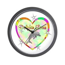 Dolphin Lover Wall Clock