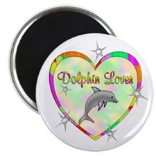 "Dolphin Lover 2.25"" Magnet (100 pack)"
