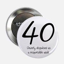 "40th Birthday 2.25"" Button"