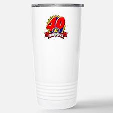 40 and Flablulous Travel Mug