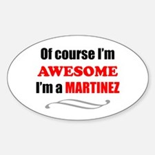 Martinez Awesome Family Decal
