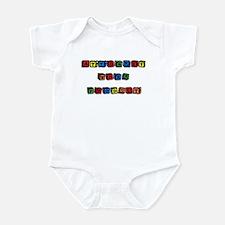 AWP Bright Blocks Infant Bodysuit