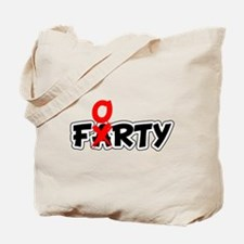 Farty Forty Birthday Tote Bag