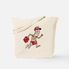 Bandage Paramedic Cartoon Tote Bag