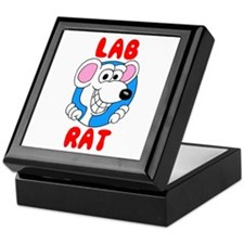 Science Lab Rat Keepsake Box