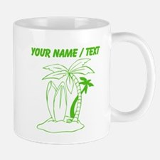 Custom Surf Beach Mugs