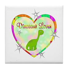 Dinosaur Lover Tile Coaster