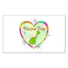 Dinosaur Lover Decal