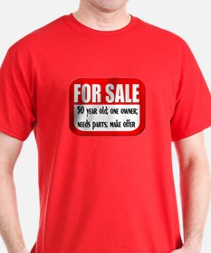 For Sale 50th Birthday T-Shirt