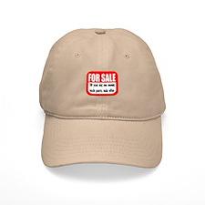 For Sale 50th Birthday Baseball Cap